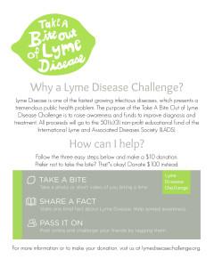 Lyme Disease Challenge Informational SM Flier