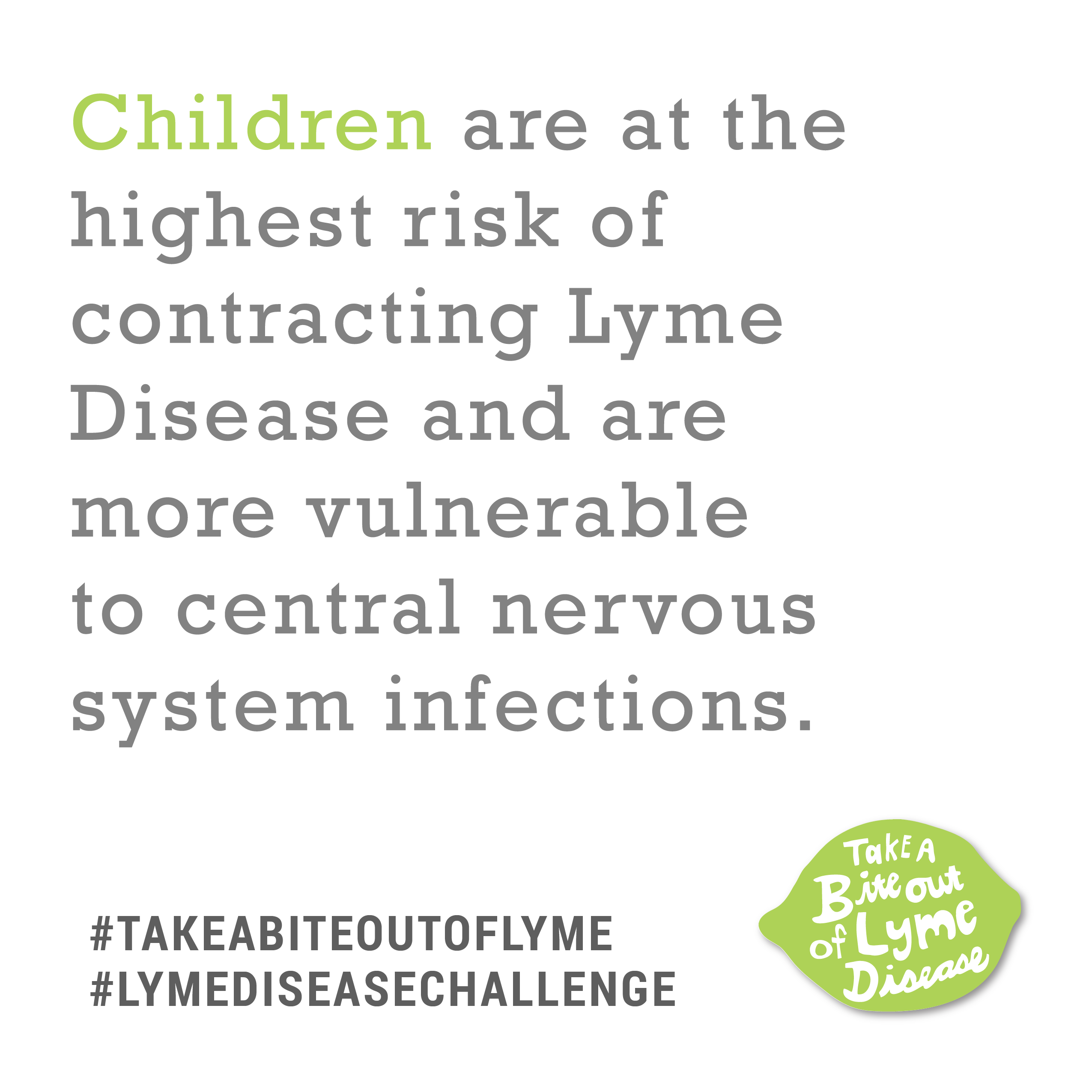 Print Facts - Lyme Disease Challenge